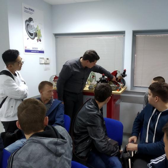 Предприятие ООО «ТЕРМОГАЗ» посетили студенты ЧПОУ «Газпром колледж Волгоград»