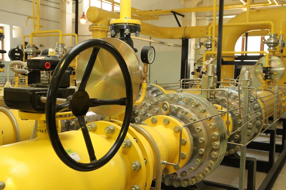 Современные регуляторы давления газа МЕТРАН для ГРП ТЭЦ